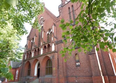 Front kościoła