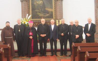 Wizyta biskupów z krajów nordyckich w Parafii Świętej Trójcy
