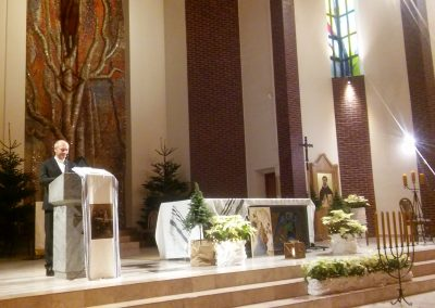 Pastor Sławomir Sikora przywołał pamięć  pastora Dietricha Bonhoeffera