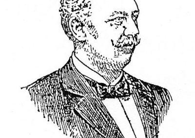 Wilhelm Meyer-Schwartau, ilustracja z gazety z 1902 r. (źródło: Wikipedia)ilustracja
