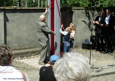 Odsłonięcie Pomnika Tolerancji