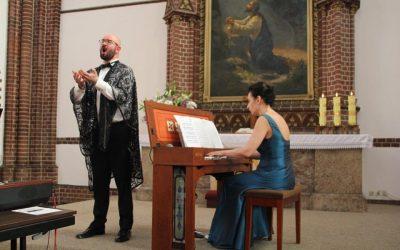 Koncert na kontratenor i klawesyn: Paweł Wojtasiewicz i Agnieszka Roguska