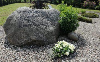 Nabożeństwo w Ogrodzie Ciszy i Medytacji im. pastora Dietricha Bonhoeffera