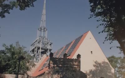 20-lecie Umowy Partnerskiej.  Spotkanie w Kościele Pamięci w Rosow