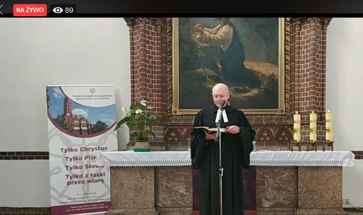 Nabożeństwo w 18. niedzielę po Trójcy Świętej – tylko w Internecie