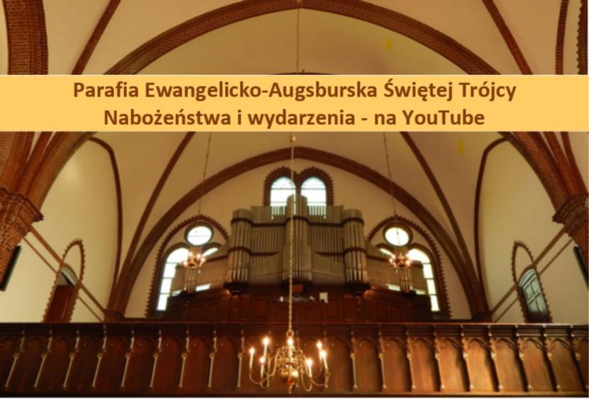 Nabożeństwa z Kościoła Świętej Trójcy  na YouTube