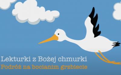 Lekturki z Bożej Chmurki – wakacyjny projekt CME dla dzieci.